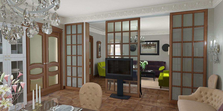 Эффективное зонирование квартиры. 11 лучших способов деления пространства
