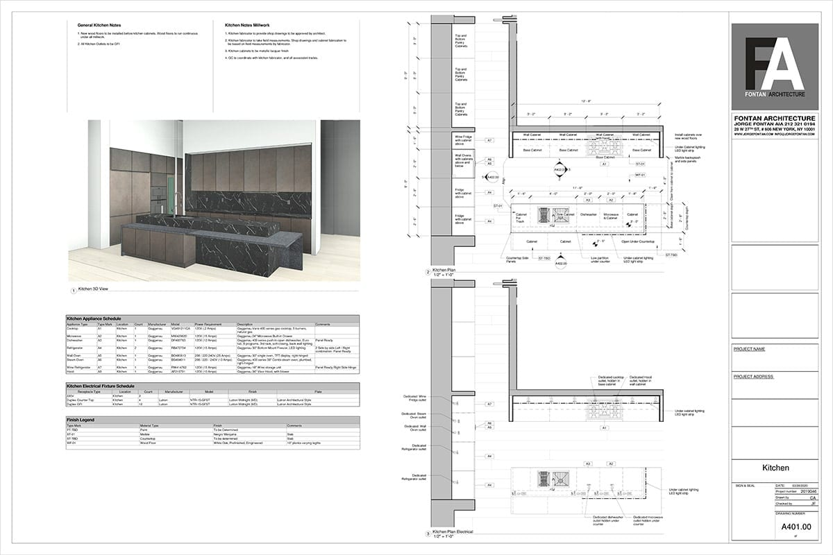 NYC High End Residential Architect